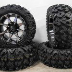 Sti Hd6 14 Wheels Machined 26 Rip Saw Tires Polaris Ranger 900 Xp Ebay