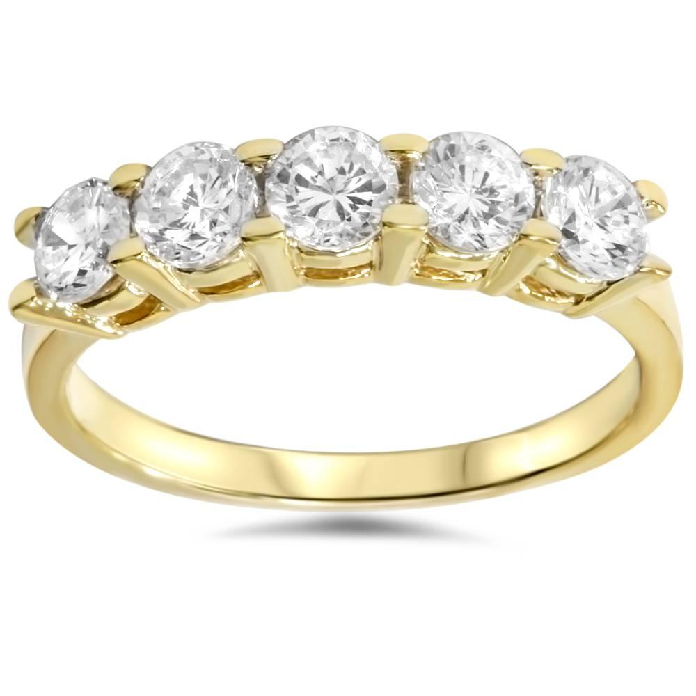 Anniversary 4 Ring Diamond Stone