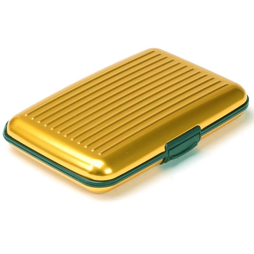 Aluminum Wallet Credit Card Holder RFID Protection Light ...