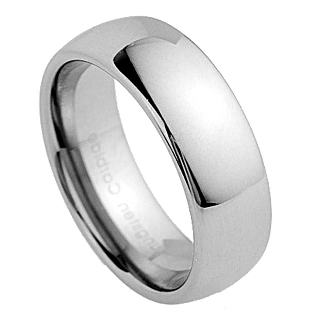 220d23fdc Tungsten Carbide Mens Wedding Band. mens tungsten carbide wedding ...