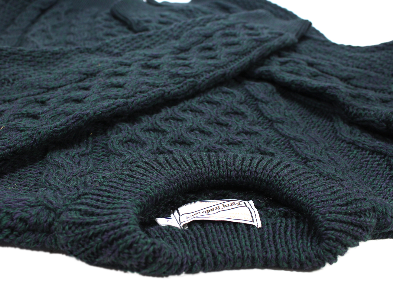 Fisherman Knit Sweater Plus Size