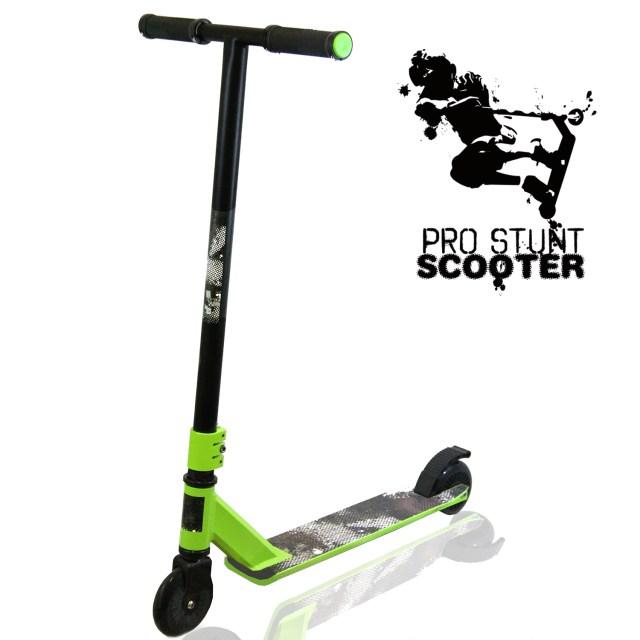 Xspec Green Pro Aluminum Stunt Kick Scooter Tricks ...