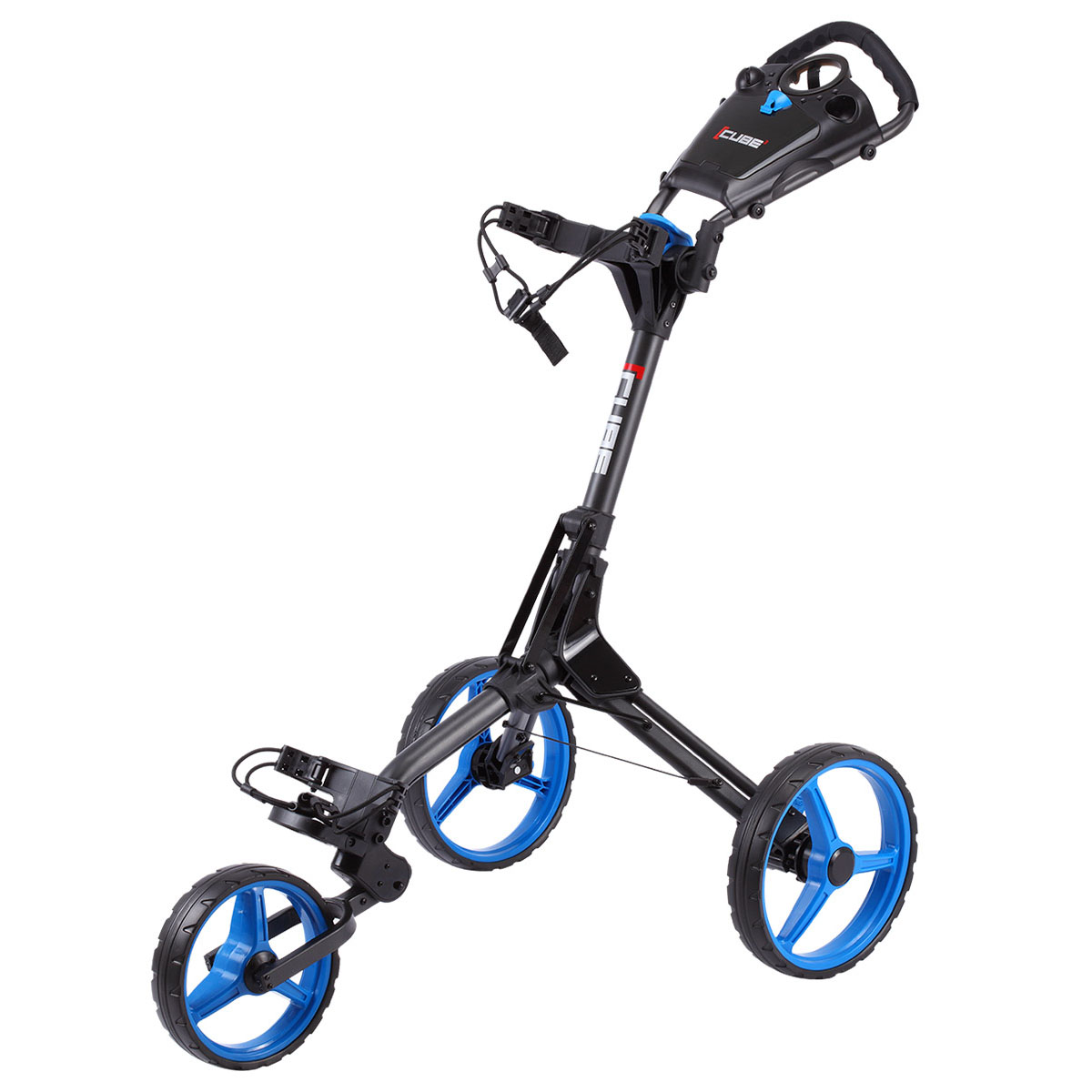 Skymax Golf Cube 3 Push Folding Trolley Compact