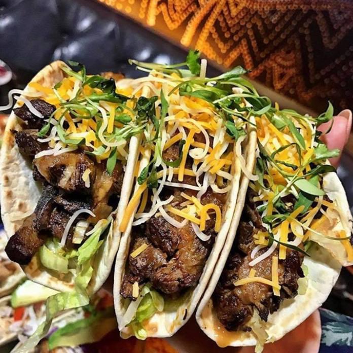 taco tuesday at borracha mexican restaurant