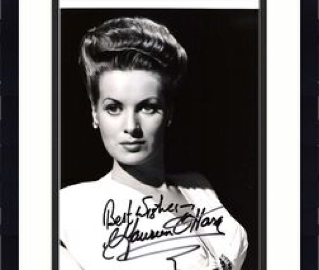 Maureen Ohara Movies Include Miracle On 34th Street Rio Grande And Sinbad The Sailor Signed