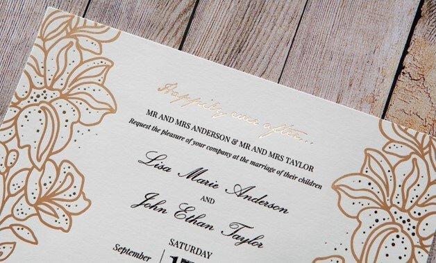 Contoh Undangan Pernikahan Dalam Bahasa Inggris Nikahnya