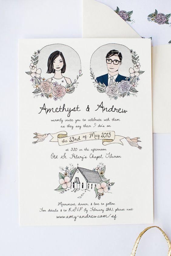 Undangan Pernikahan Vintage Nikahnya