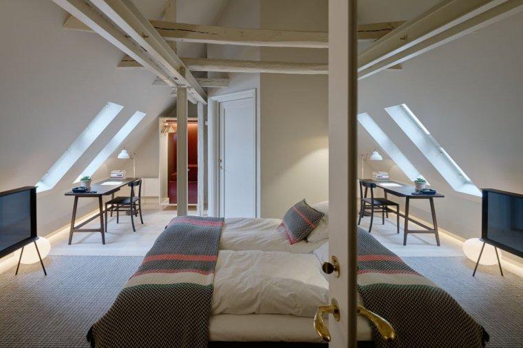 12 hôtels modernes dans les bâtiments historiques du monde entier - Photo 2 de 24 - Les intérieurs de Villa Terminus à Bergen, en Norvège