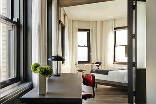 12 hôtels modernes dans les bâtiments historiques du monde entier - Photo 4 de 24 - Les intérieurs de The Robey à Chicago, Illinois