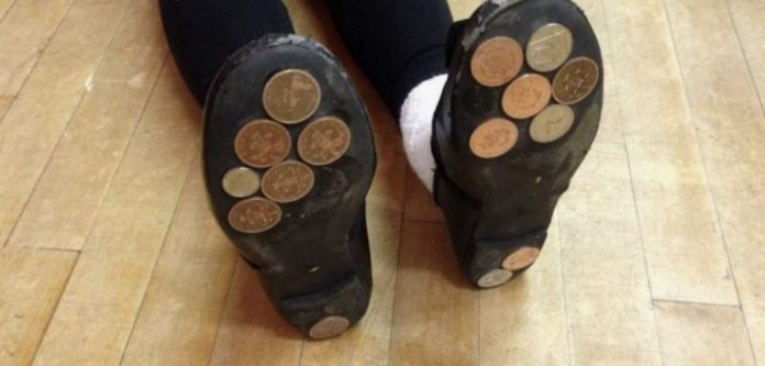 Entertain Your Kids With Coins On Their Shoes