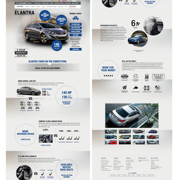 12 Car Automotive Landing Page Examples