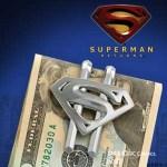 Exklusive Geschenke: Superman Returns Geldklammer Stahl