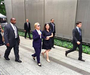Did Clinton Bring A Doctor To The 9/11 Memorial?
