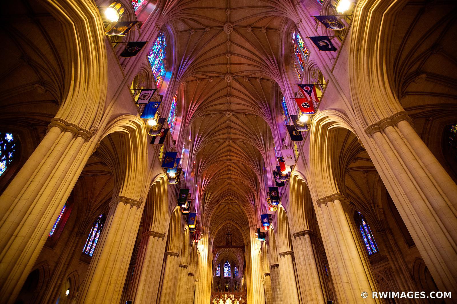 Framed Photo Print Of Washington National Cathedral