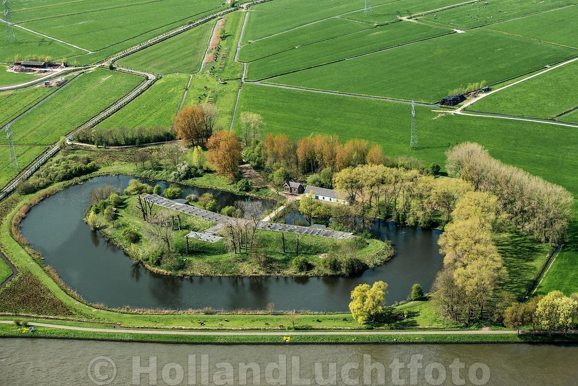 Home | Nigtevegt - Luchtfoto van het Fort bij Nigtevecht