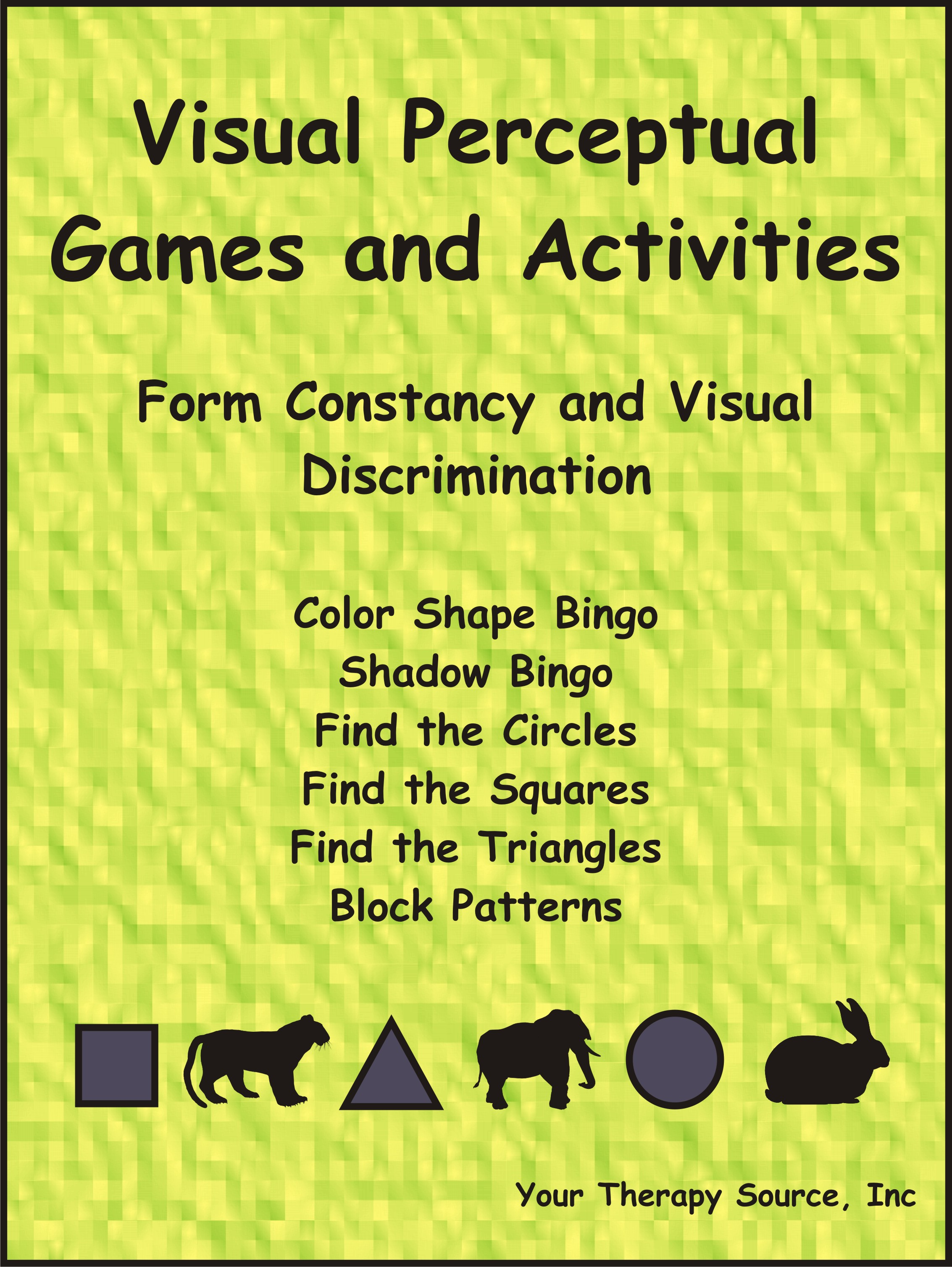 Visual Perceptual Games And Activities Form Constancy