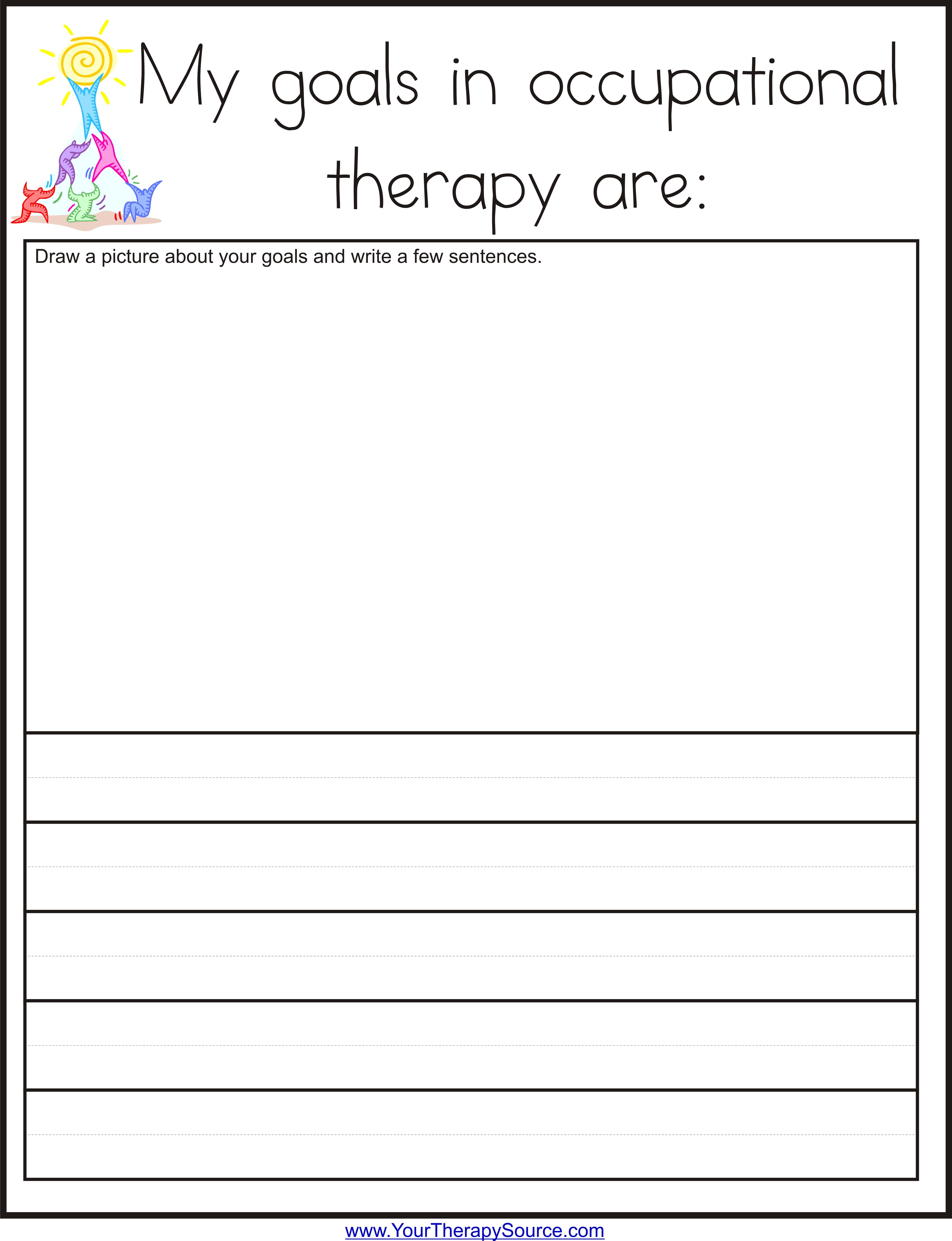 Goal Worksheet For