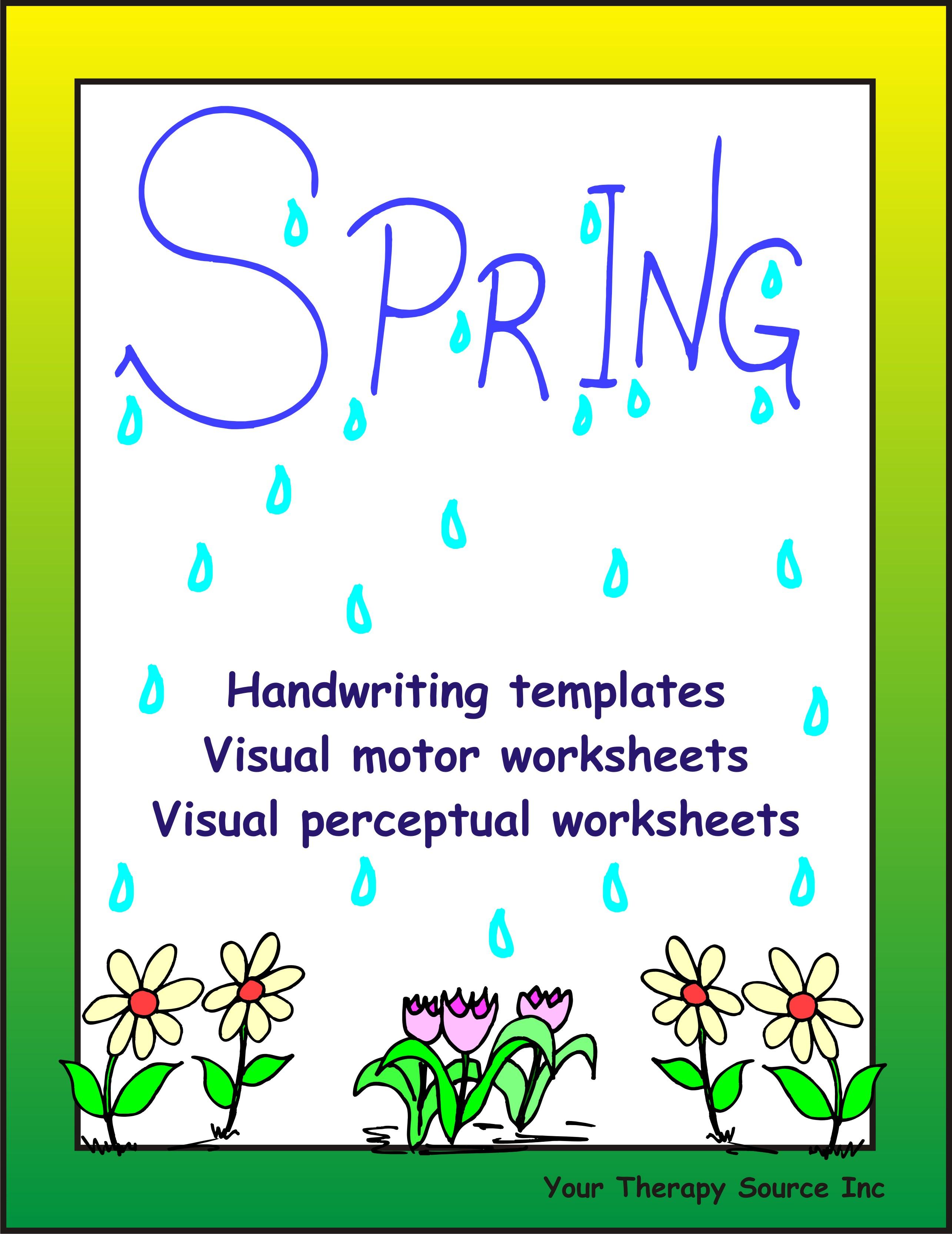 Free Visual Perceptual Worksheet
