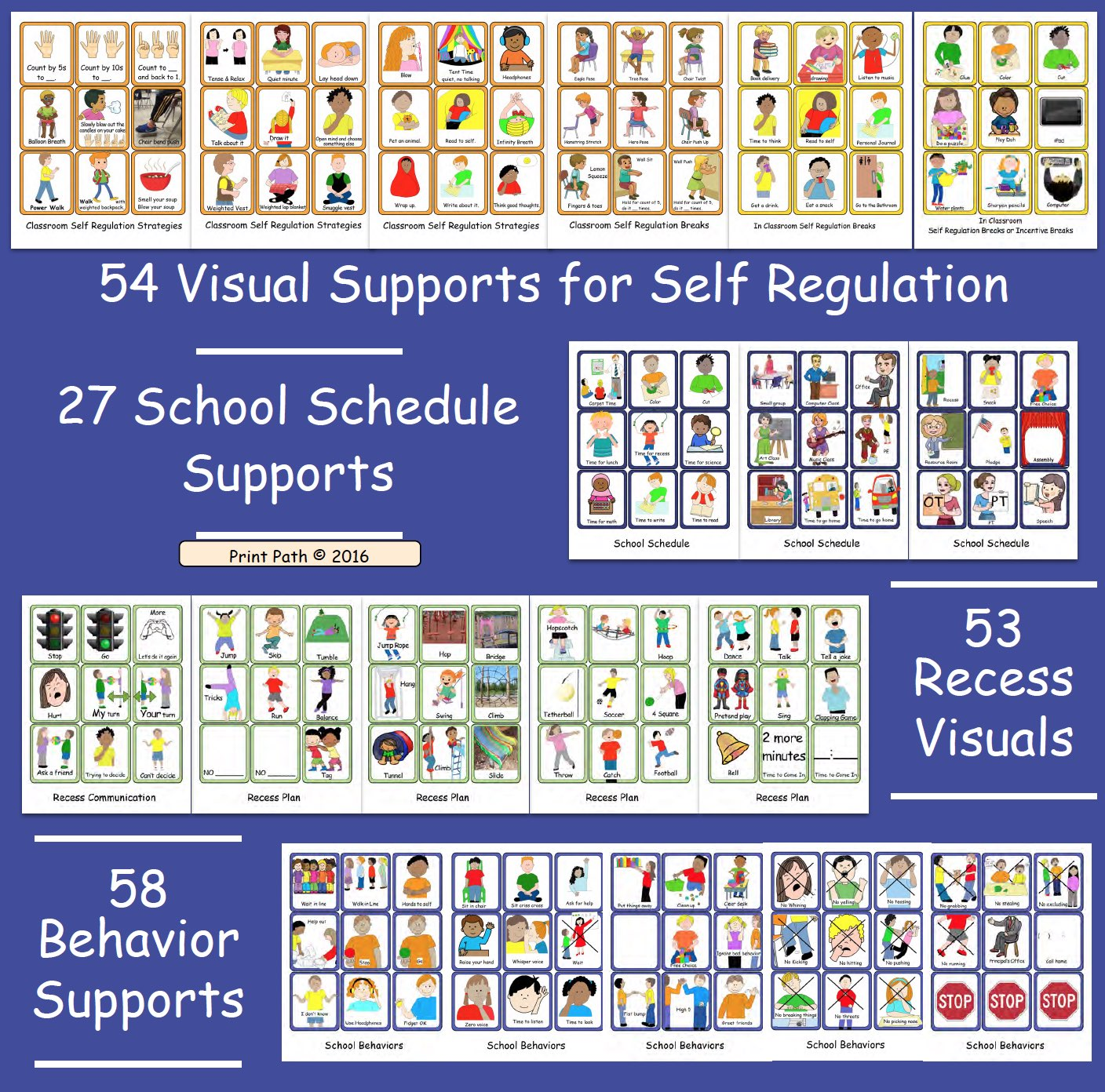 Visual Supports Schedules Self Regulation Amp Classroom