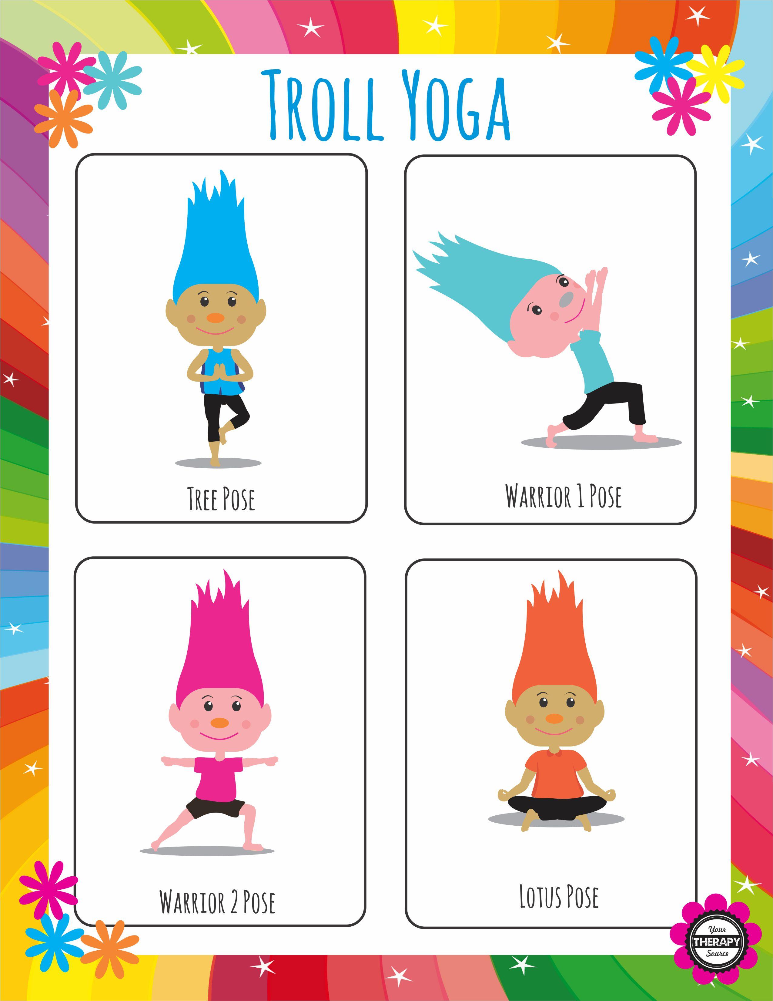 Troll Yoga Poses
