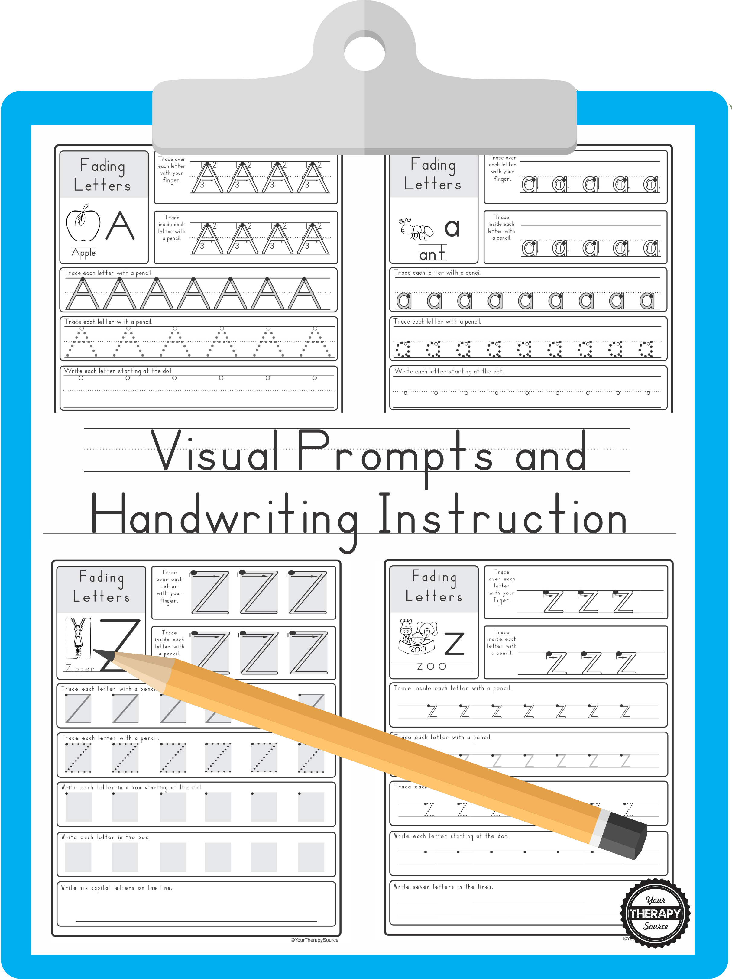 Visual Prompts And Handwriting