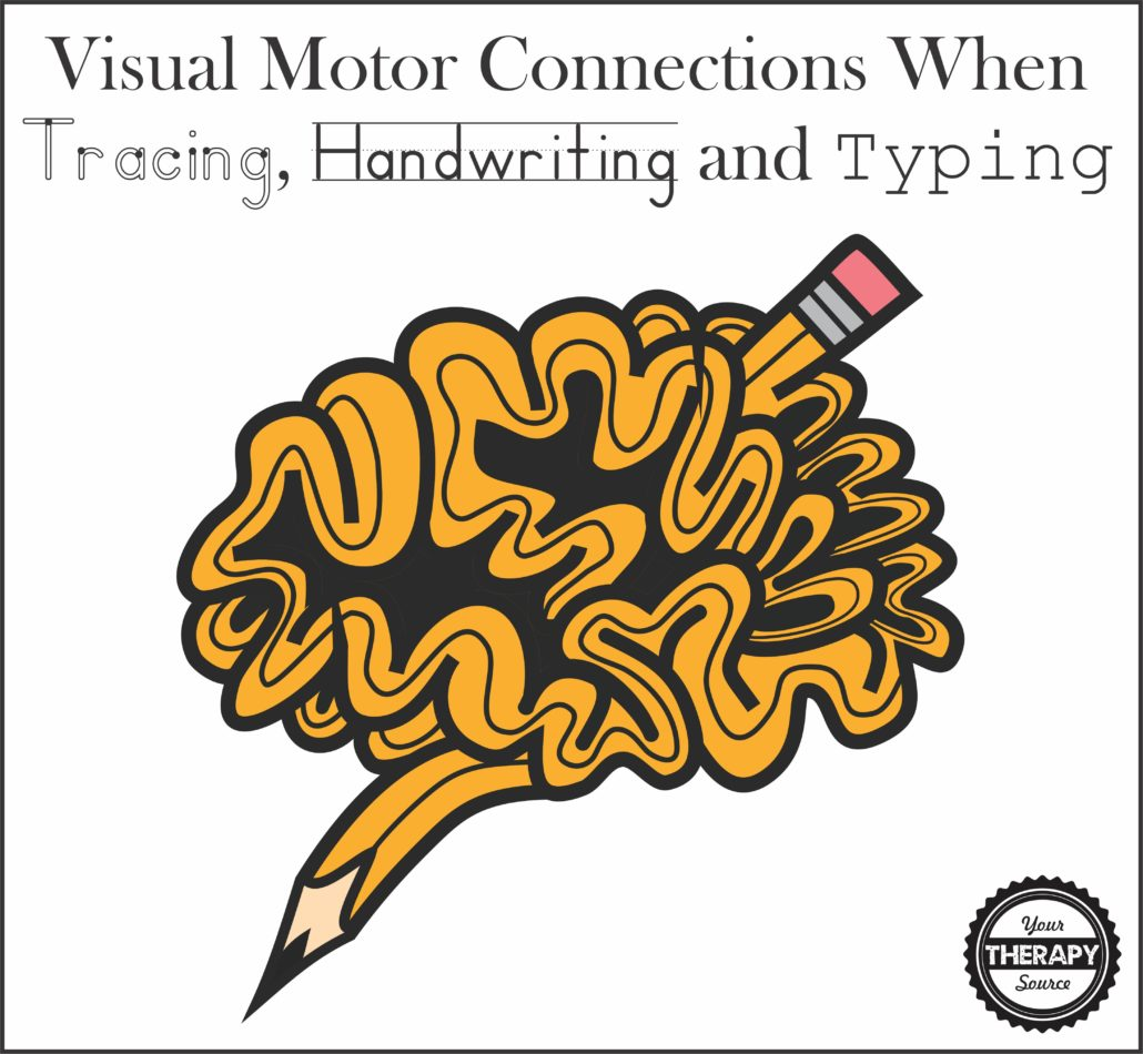 Visual Motor Connections When Tracing Handwriting And Typing