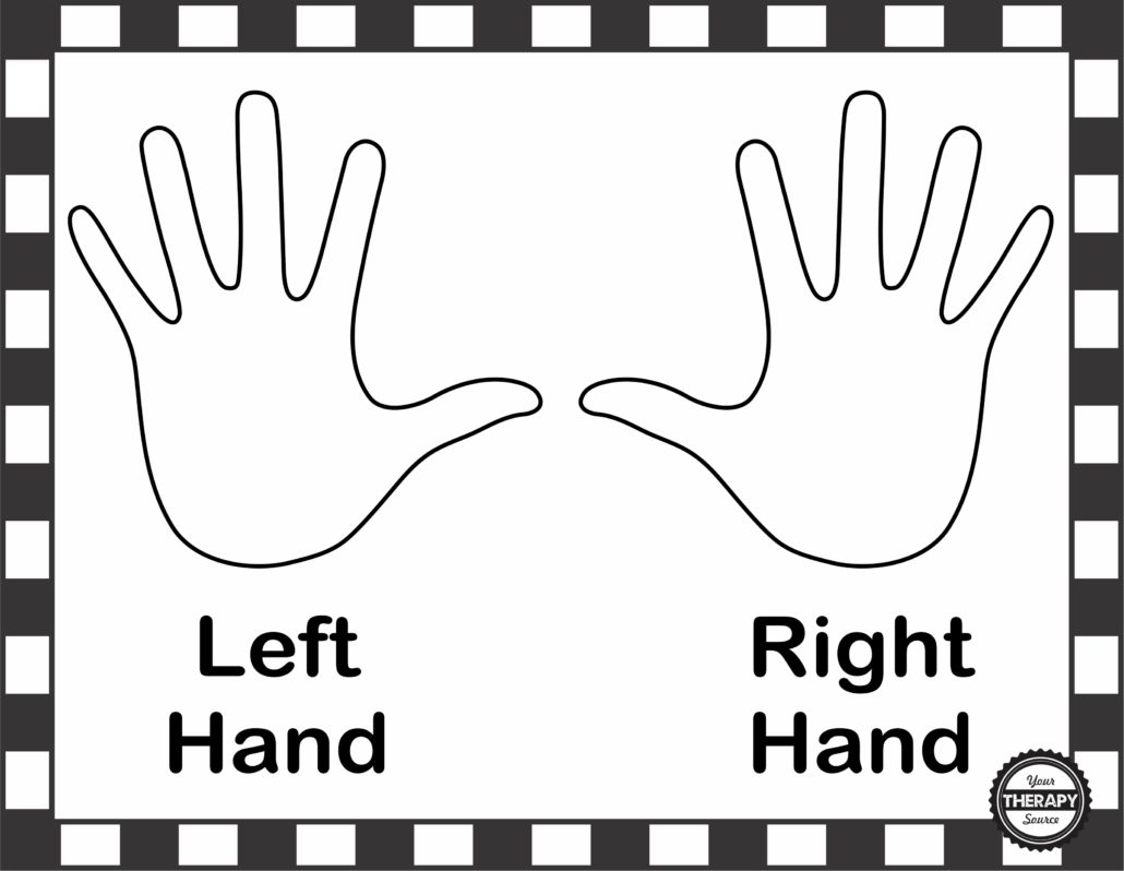 Right Or Left Hand Poster