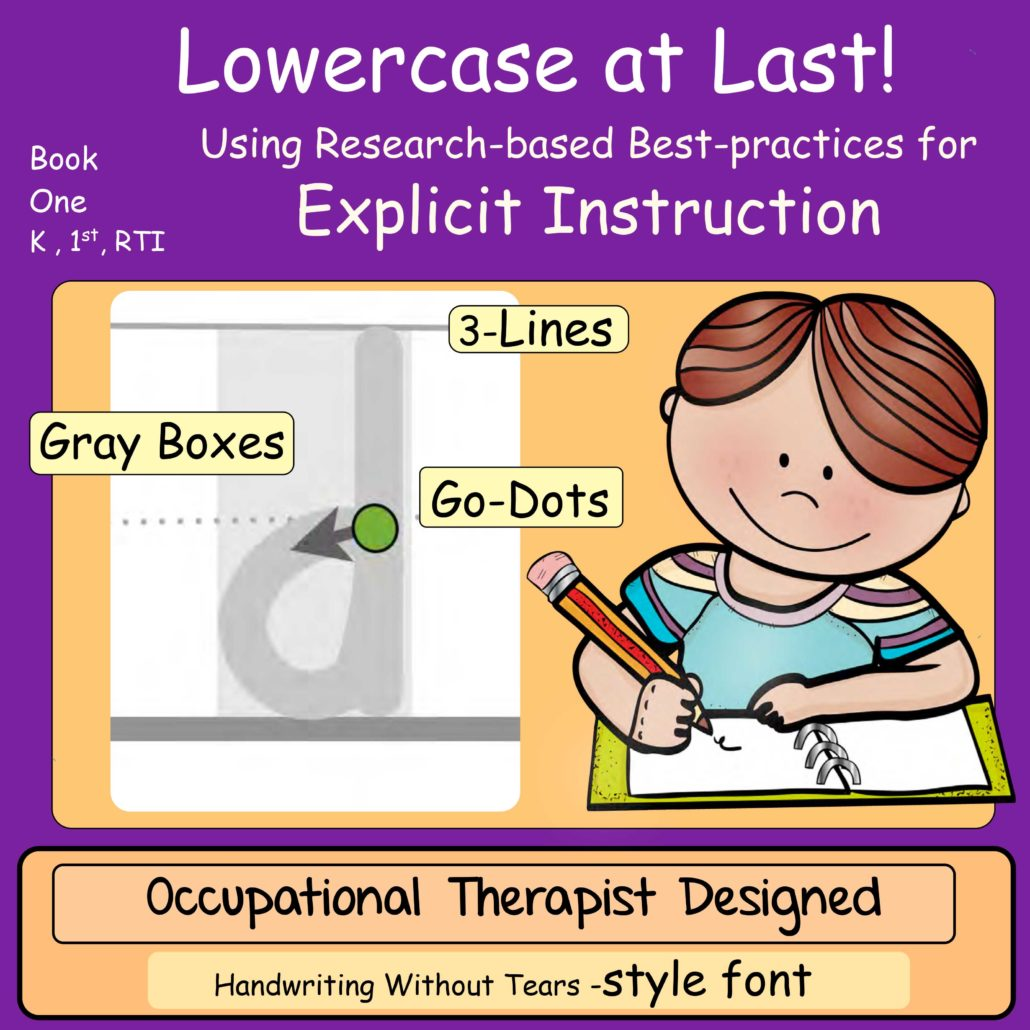 Lowercase At Last Book 1 Explicit Instruction Handwriting
