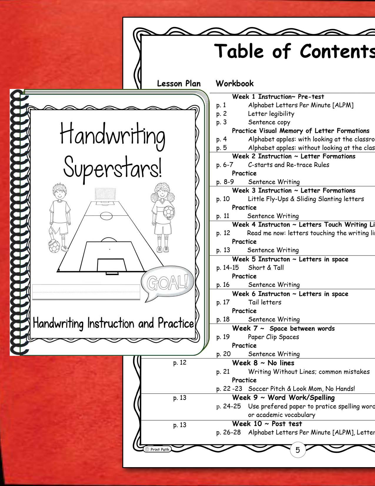 Handwriting Superstars 2nd Grade Conventions Hwt Style
