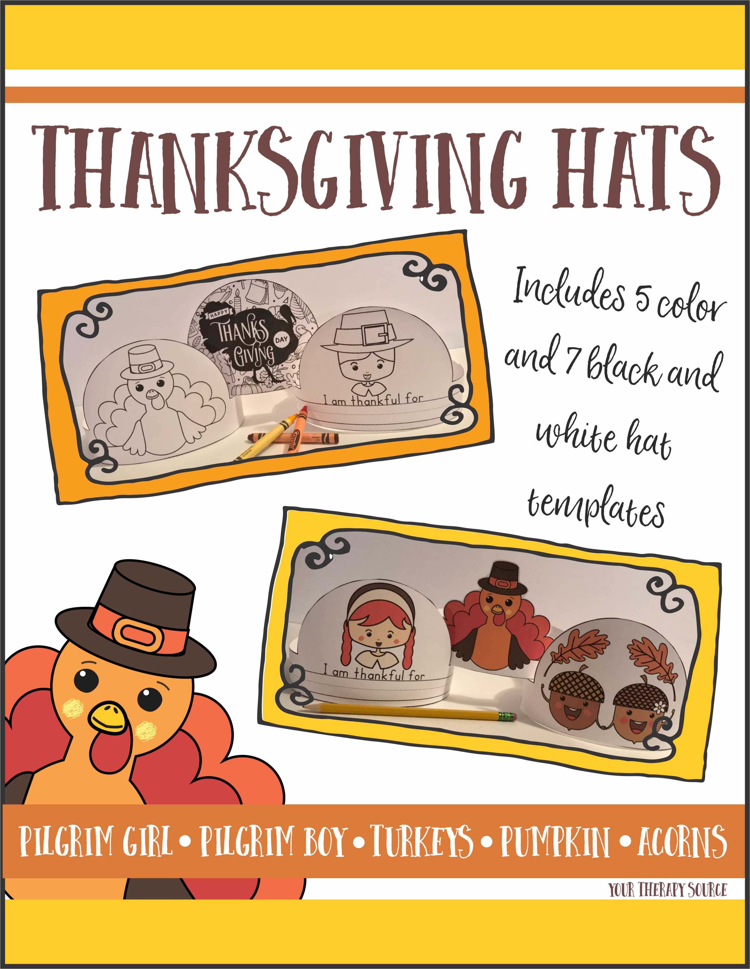 Thanksgiving Hats