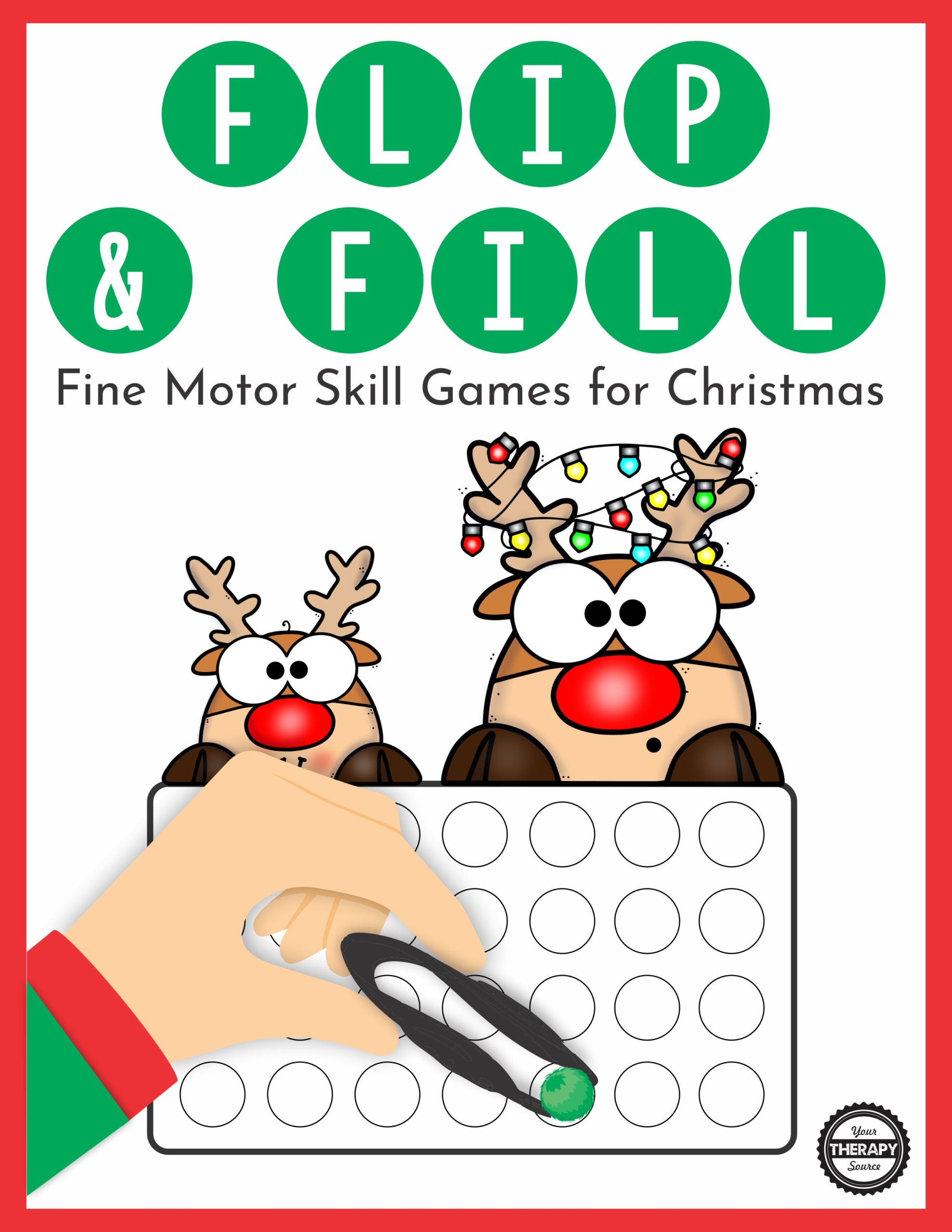 Christmas Fine Motor Game