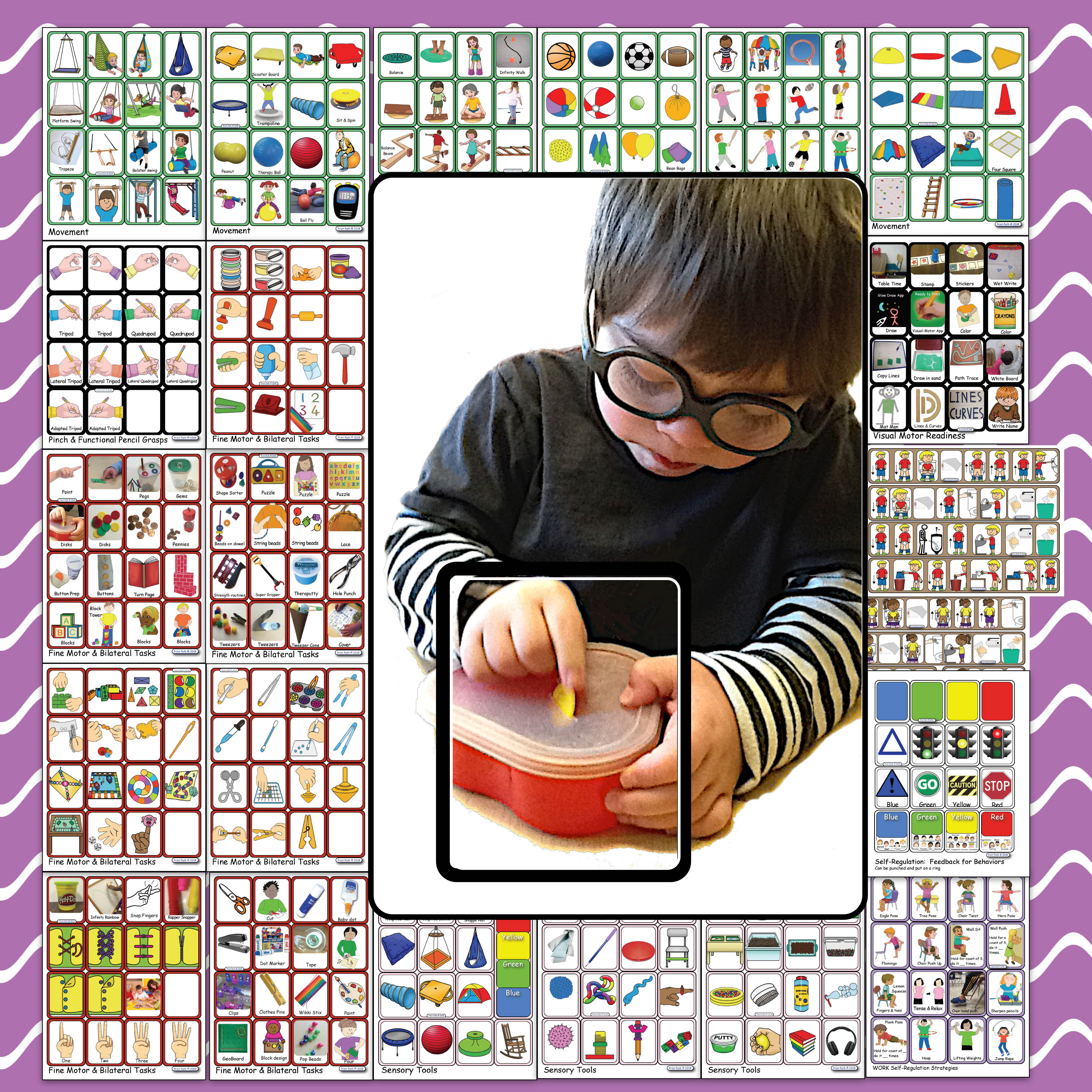 Visual Supports For Occupational Therapy