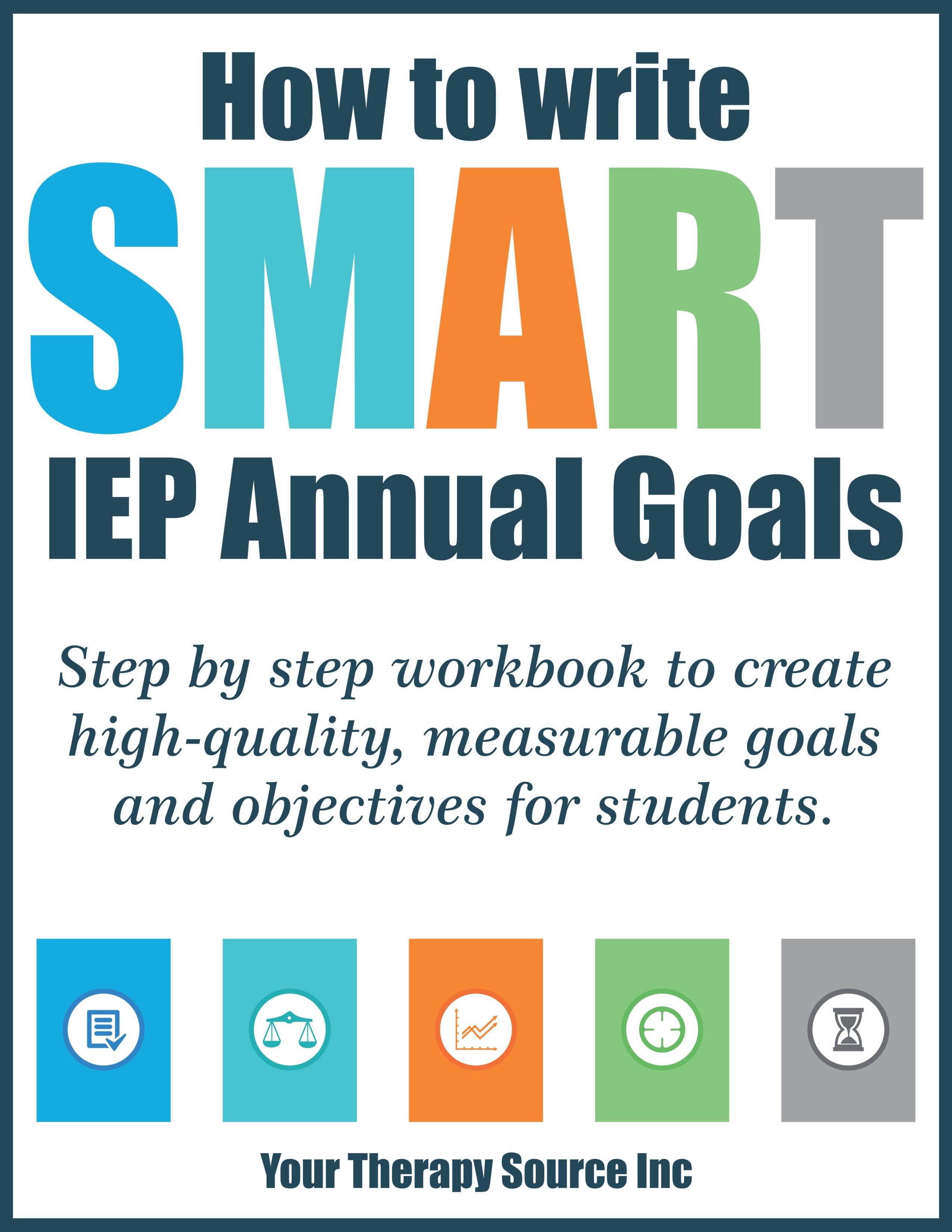 Smart Goals Therapy Worksheet