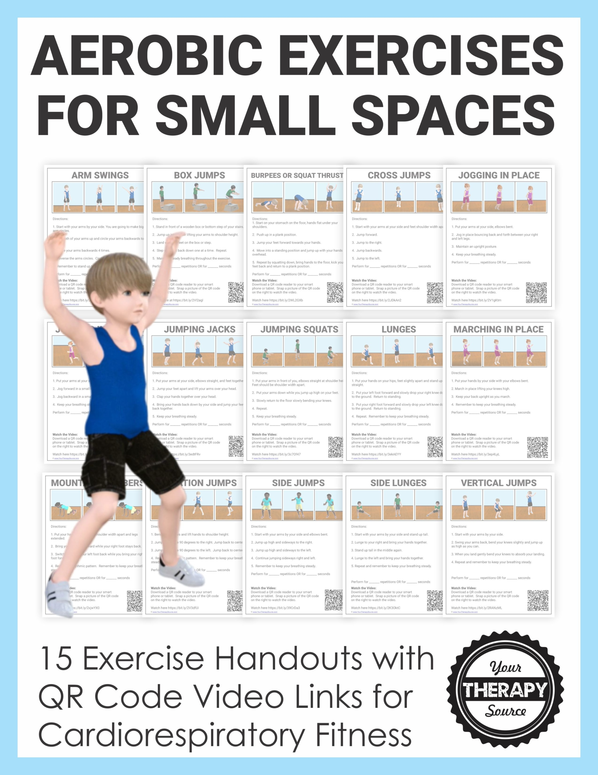 Cardio Aerobic Exercises For Small Spaces
