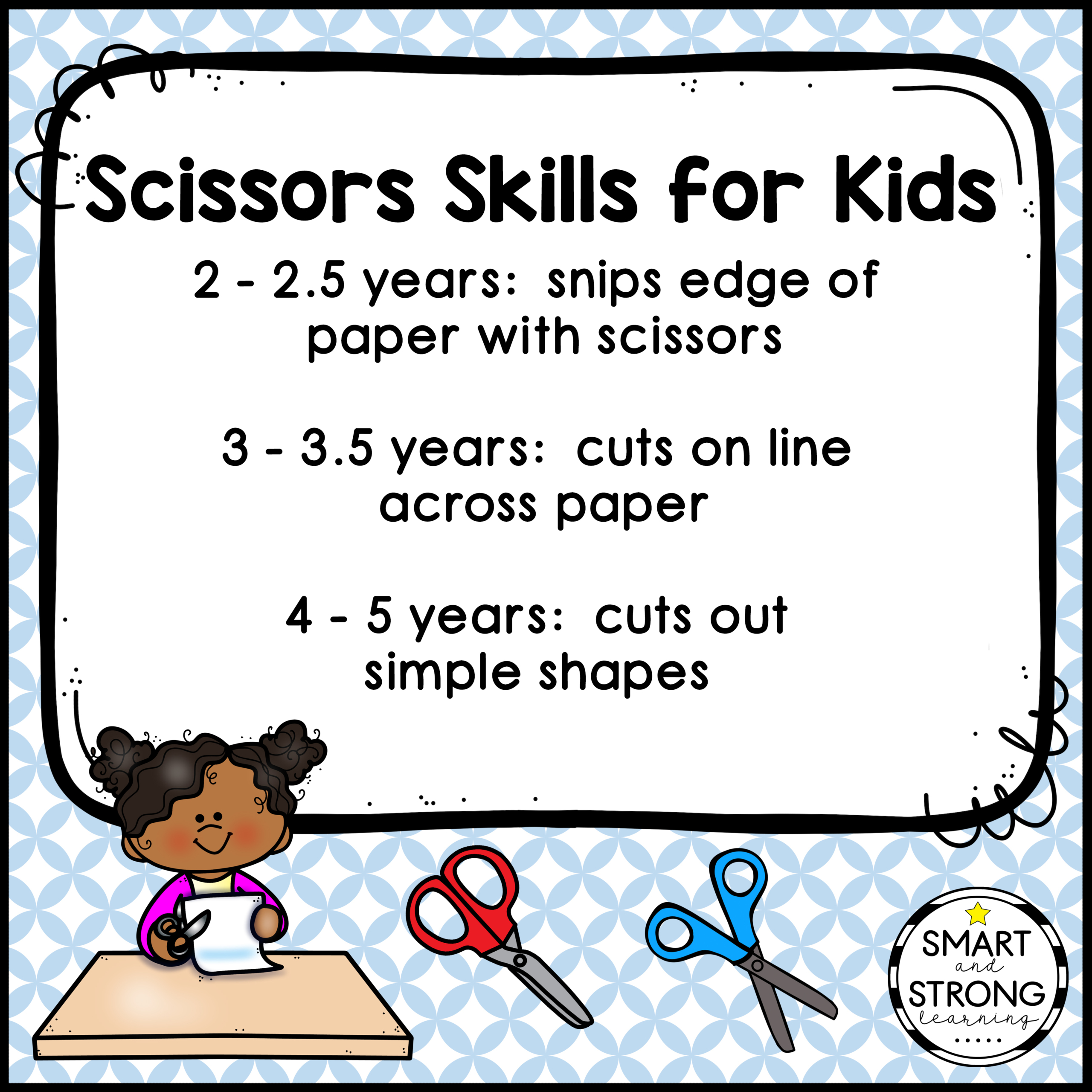 Scissor Skills Printable Worksheets