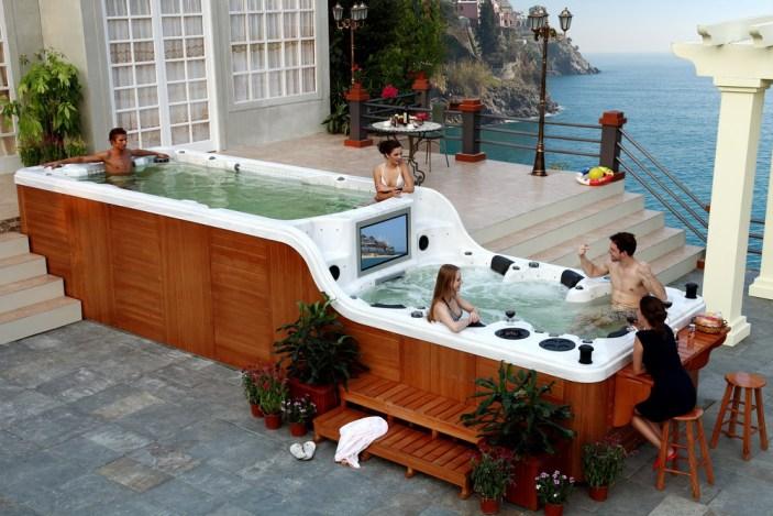 giant hot tub