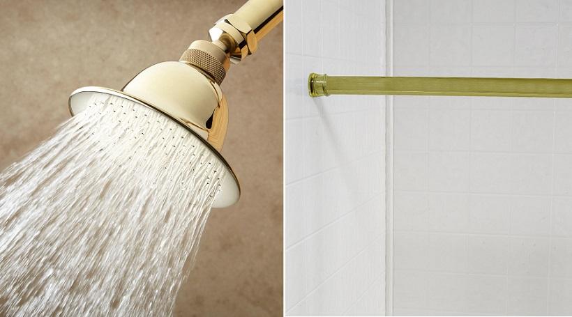 shower head bathroom upgrade