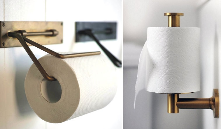 toilet paper holder bathroom upgrade