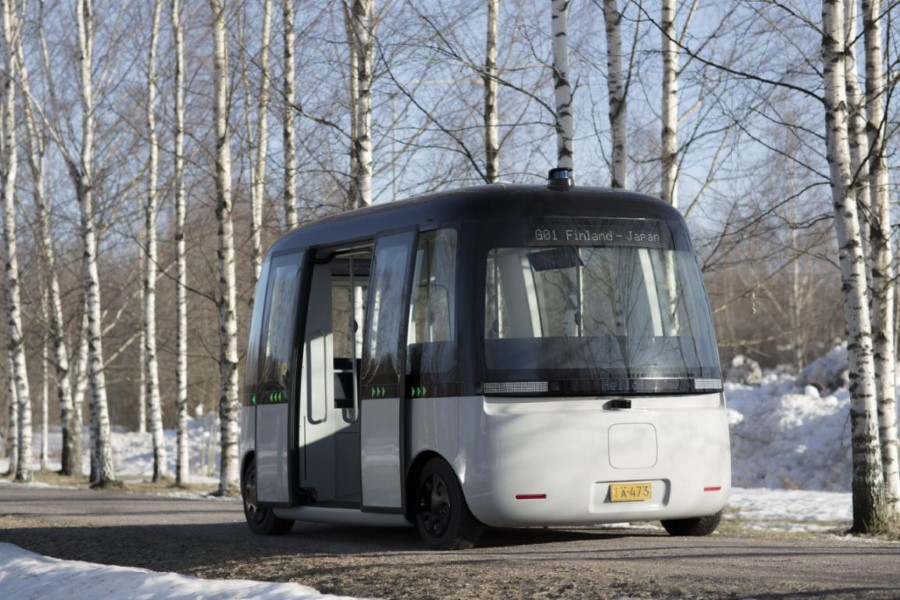 GACHA, The First Self Driving Shuttle Bus, Gets Rough Weather LiDAR - TechTheLead