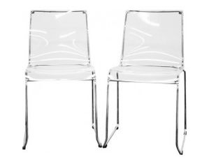 CLEAR PLASTIC DINING ROOM CHAIR SEAT COVER Chair Pads