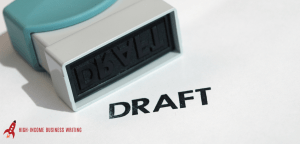 Hacking Your First Draft