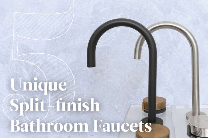 5 Unique Split Finish Bathroom Faucets Design Ideas Watermark