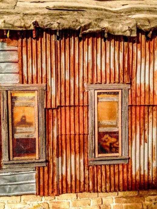 Rusty Corrugated Iron