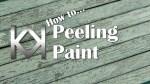 How to Model Peeling Paint