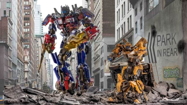 Optimus and Bumblebee