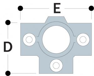 35 - Three Socket Cross