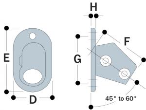 63 - Angle Base Flange