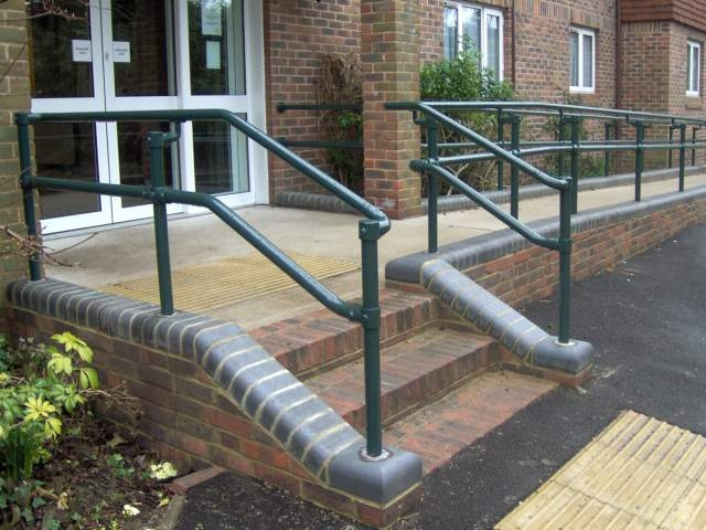 New Series 500 Ada Railing Systems To Build Ada Compliant | Galvanized Pipe Stair Railing | Garden | Industrial | Metal | Used Deck Railing | Interior