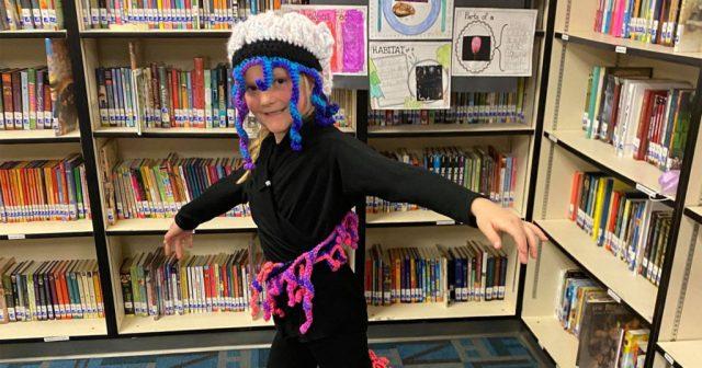 Harrison Elementary Students Put on Animal Wax Museum