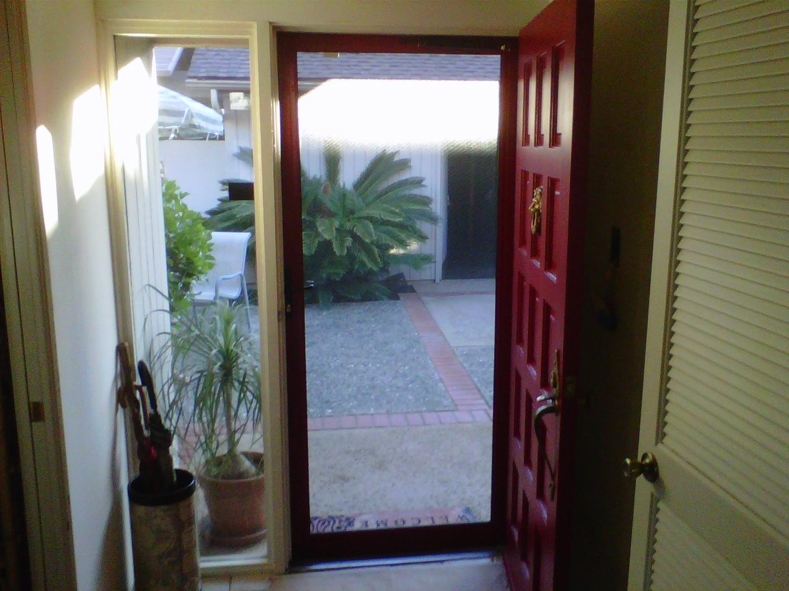Security Screen Doors Metal Security Sliding Front Metal